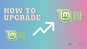 How to upgrade to Linux Mint 19