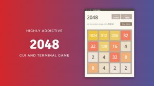 2048 game in Linux