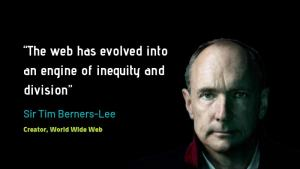 Tim Berners-Lee is creating a decentralized web with open source project Solid