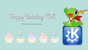 Happy Birthday KDE
