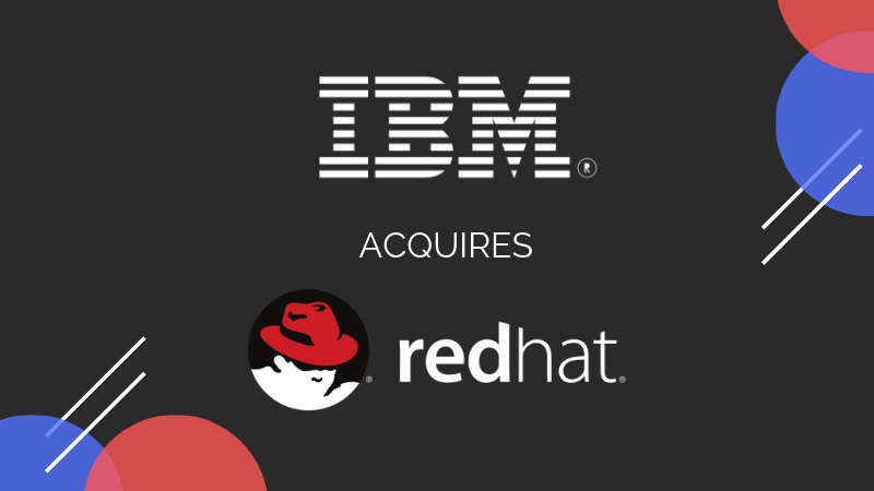 IBM Gets Red Hat for $34 Billion - It's FOSS