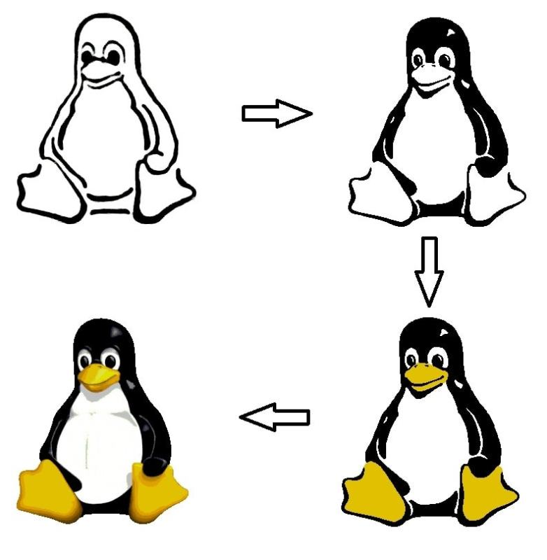 How Larry Ewing Created Tux With Gimp