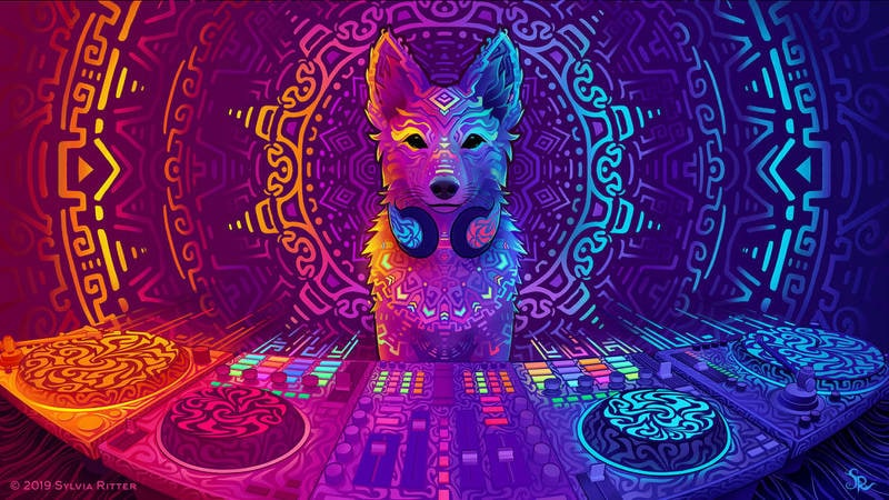 Ubuntu 19.04 Disco Dingo Fan Made Wallpaper