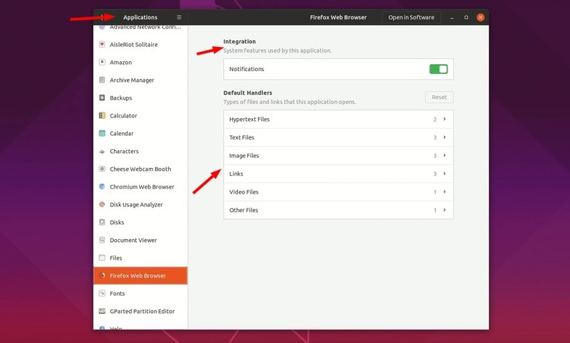 App permission control in Ubuntu