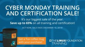 Linux Foundation Cyber Monday Sale
