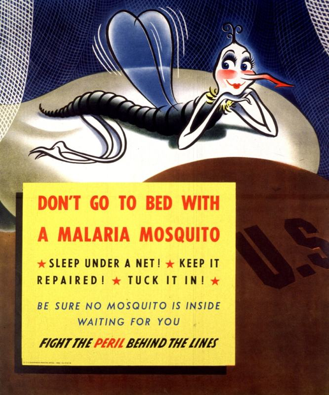 Malaria awareness poster