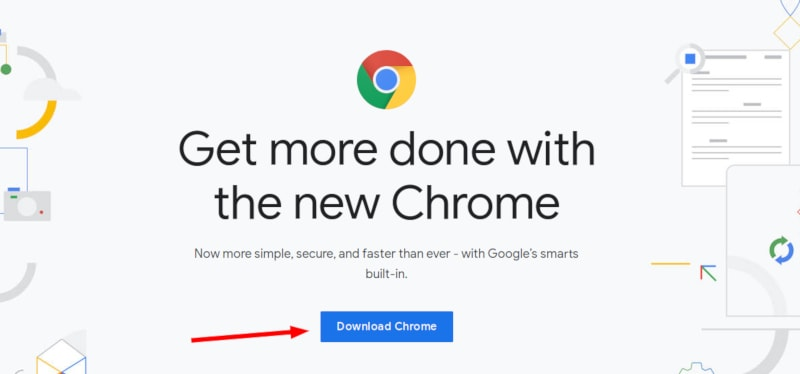 Download Google Chrome for installing it On Ubuntu