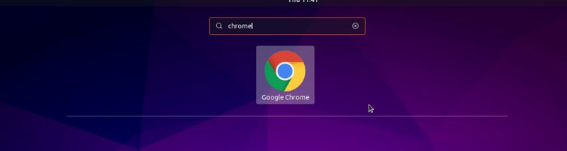 Google Chrome in Ubuntu 18