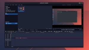 Flowblade video editor in Ubuntu Linux