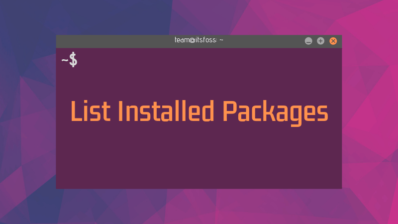 How to List Installed Packages on Ubuntu and Debian