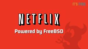 Netflix uses FreeBSD for its CDN