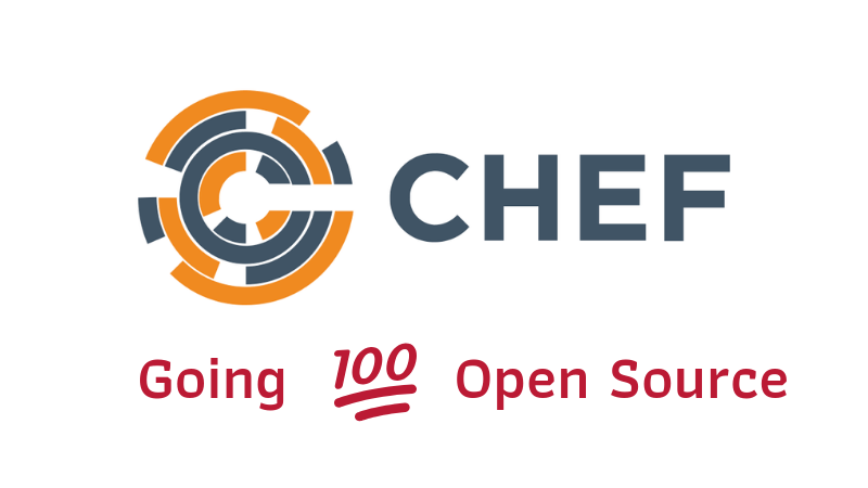 Chef going to be 100% open source