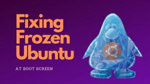 How to fix Ubuntu freezing at boot time