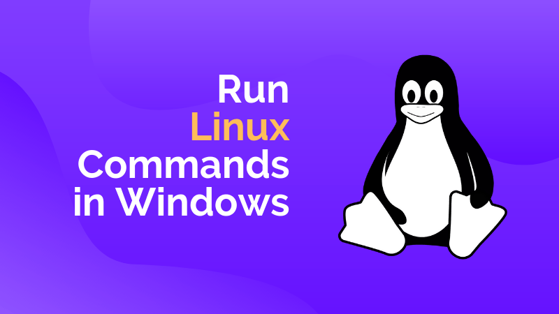 Run Linux Commands In Windows