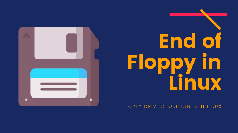 End Of Floppy In Linux