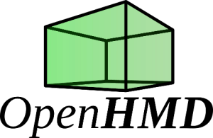 Logo of OpenHMD open source project for VR