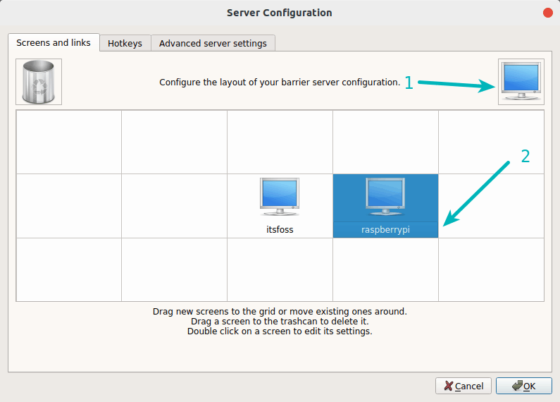 Barrier Server Configuration
