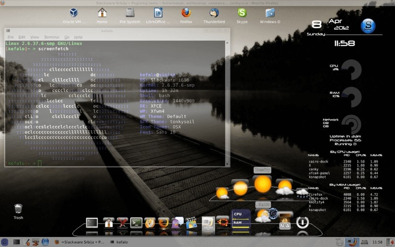 Slackware Screenshot