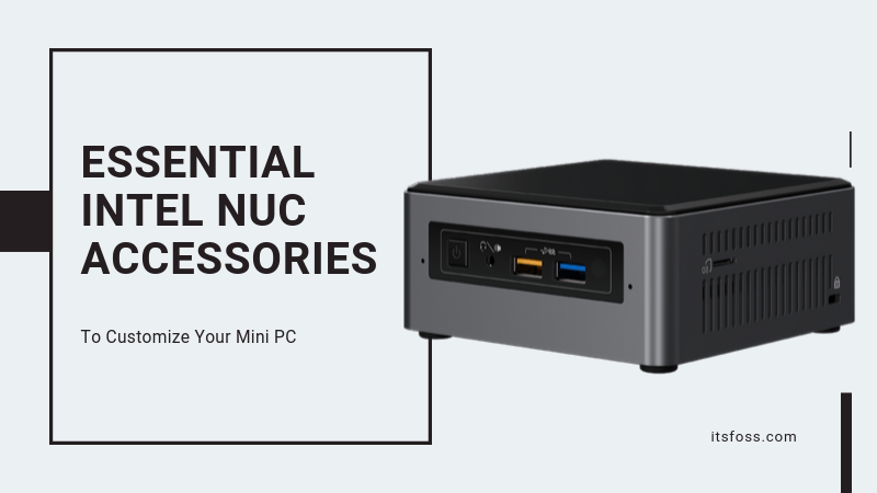 Intel Nuc Accessories