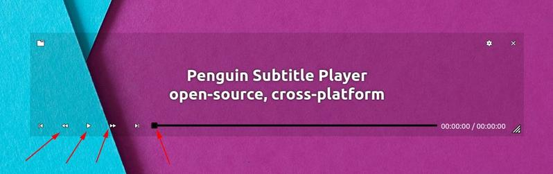 Adjust Subtitle In Penguin Subtitle Player