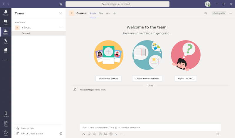 Microsoft Teams Main