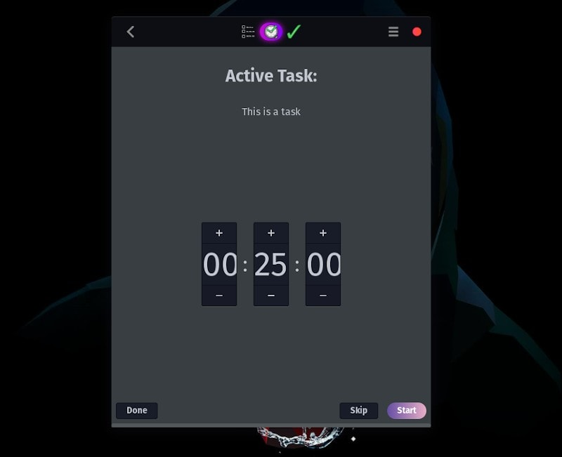 Go For It Timer