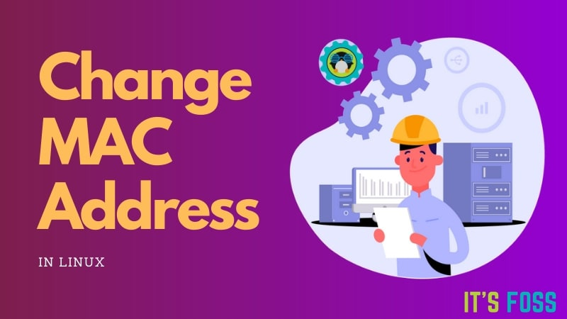 Change Mac Address Linux