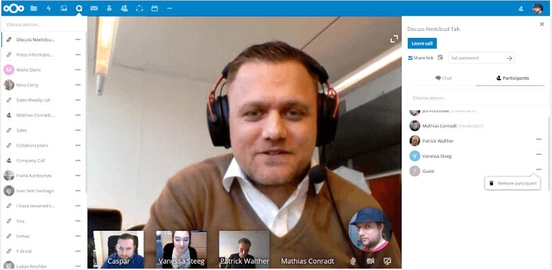 Nextcloud Video Call