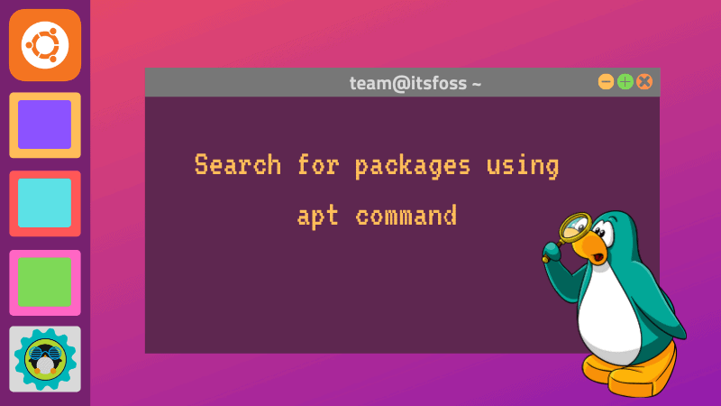 Apt Search Command