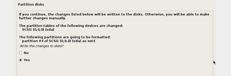 22write Changes To Disk22 Prompt