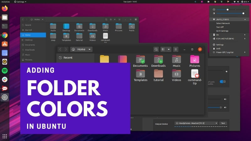 How to Change Folder Color in Ubuntu 20.04