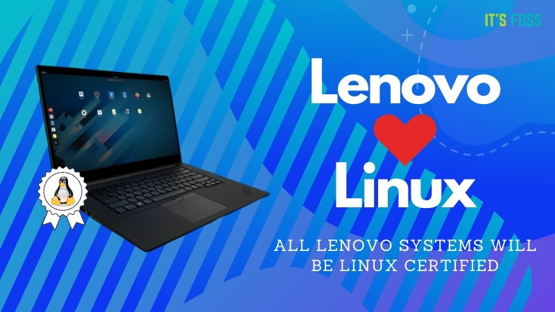 Lenevo Linux Certified Systems