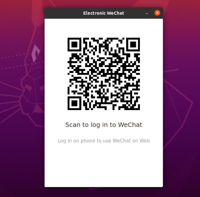Scan Qr Code for WeChat