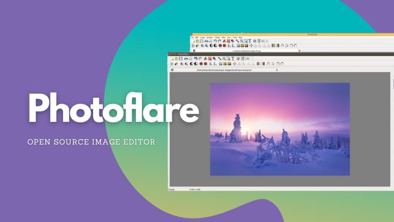 Photoflare: An Open Source Image Editor for Simple Editing Needs