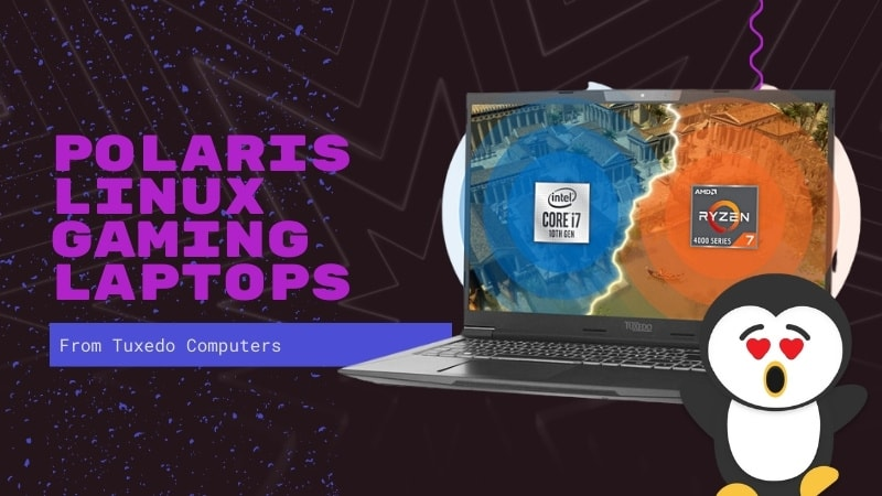 Polaris Linux Gaming Laptops