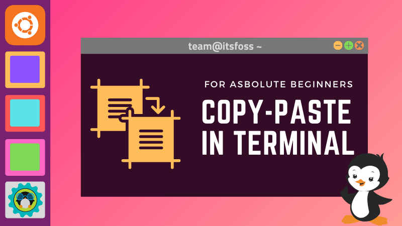 How to copy In Ubuntu and Other Linux Terminal