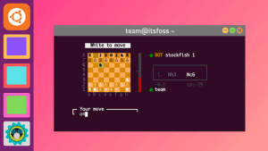 Play Chess Linux Terminal
