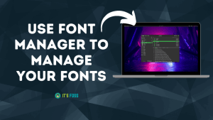 Font Manager Ft