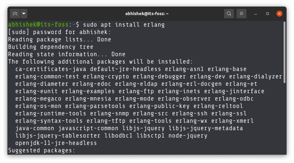 How to Install the Latest Erlang on Ubuntu Linux