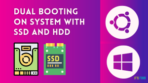 dual booting system hdd ssd
