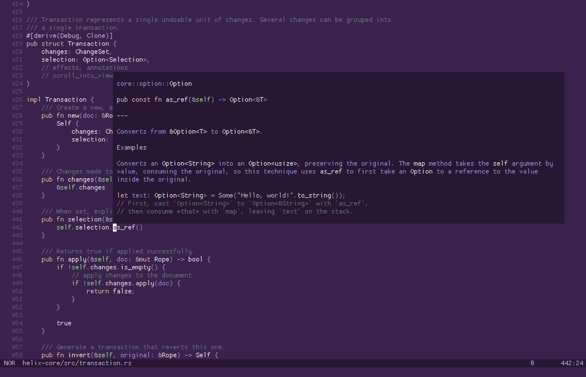 Helix: A Terminal Based Text Editor for Power Linux Users