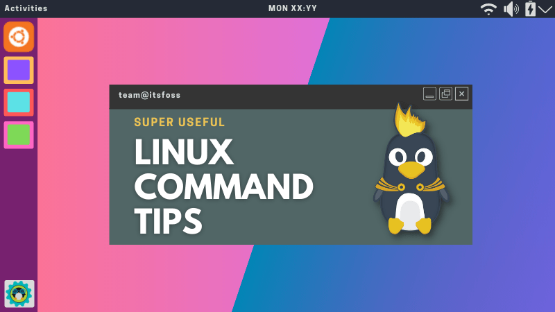 linux command tips
