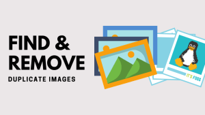 find remove duplicate images linux