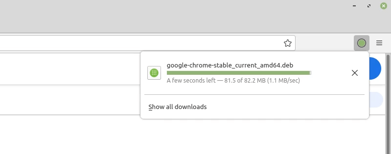 finishing chrome download linux mint