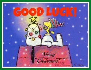 Snoopy Good Luck
