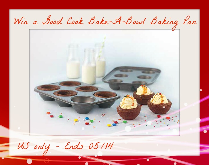 Good Cook Bake-A-Bowl Pan Giveaway ends 5/14