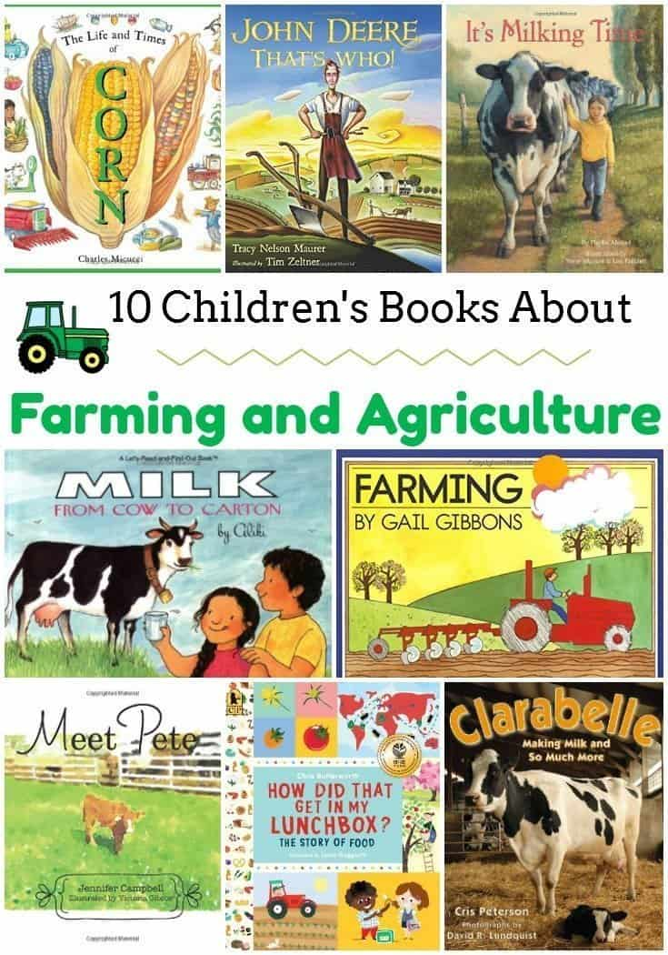 10 Children's Books About Farming and Agriculture
