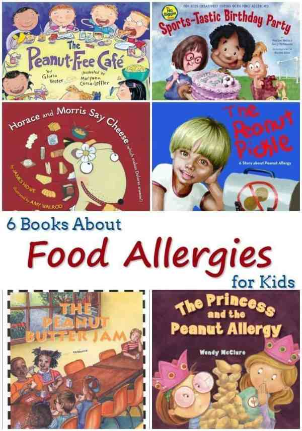 6 Books About Food Allergies for Kids - Fundamental ...