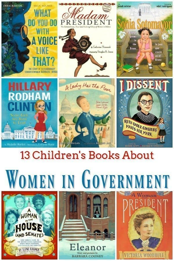 13 Children's Books About Women in Government