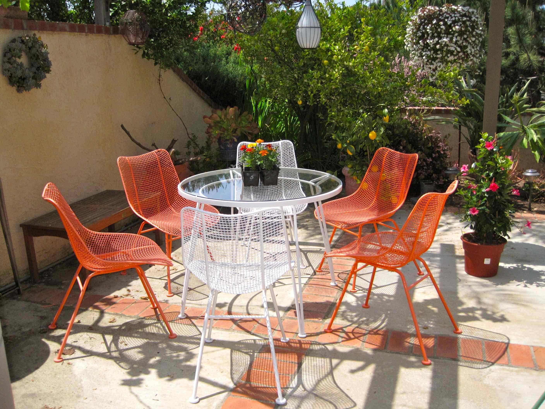 find woodard sculptura patio set
